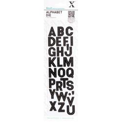 """Набор ножей для вырубки """"Алфавит - Заголовок"""" 29шт. 2,4х2см сталь, Docrafts"""