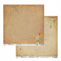 Зачарованный лес, бумага для скрапбукинга 30.5x30.5 см двусторонняя 190 г/м2, Mr.Painter