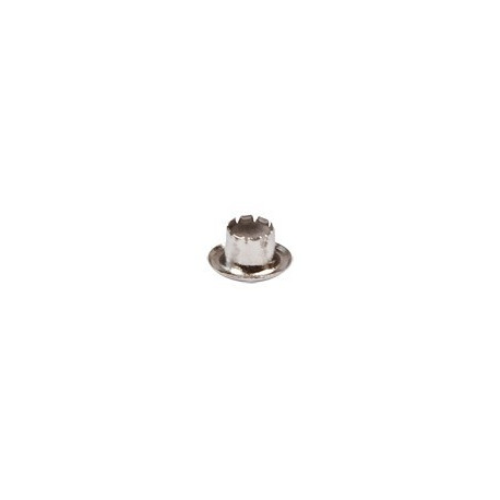 Никель, блочки d6мм 100шт, Micron