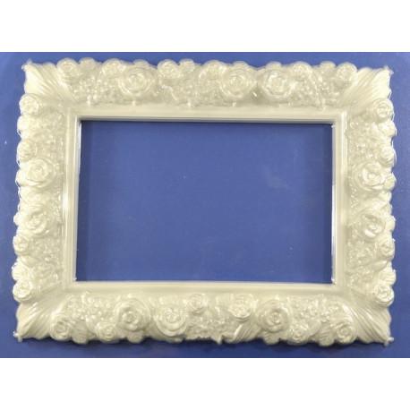 Прямоугольная рамка, пластиковая форма 21,5х16,5см