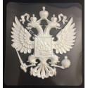 Герб России, пластиковая форма 20х22см