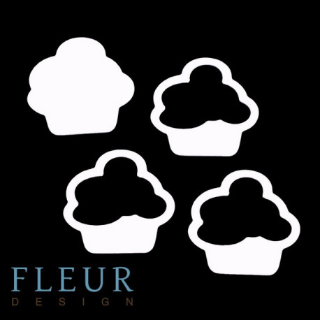 Кекс, шейкер 5,2х5,5 см Fleur Design