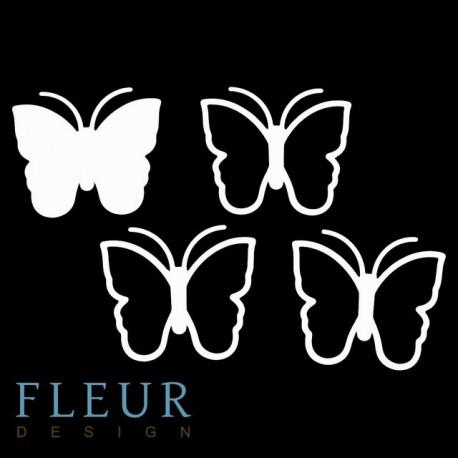 Бабочка большая, шейкер 10,5х9 см Fleur Design