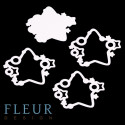 Звезды, шейкер 8,5х8 см Fleur Design
