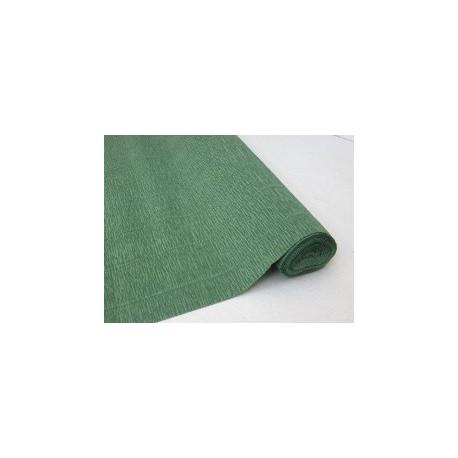 Зеленый, креп(гофробумага), 2,5*0,5м