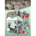 Nordic Spirits, набор высечек для скрапбукинга 59шт. Scrapmir