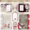 Конверты Charming (Очарование), лист двухсторонней бумаги 20х20см, 190гр/м Scrapmir