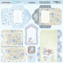 Конверты Mommy's Hero, лист двухсторонней бумаги 20х20см, 190гр/м Scrapmir