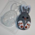 Кролик мультяшный, пластиковая форма для мыла XD