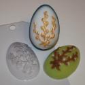 Яйцо/Верба, пластиковая форма для мыла 40г 66х44х25мм XD