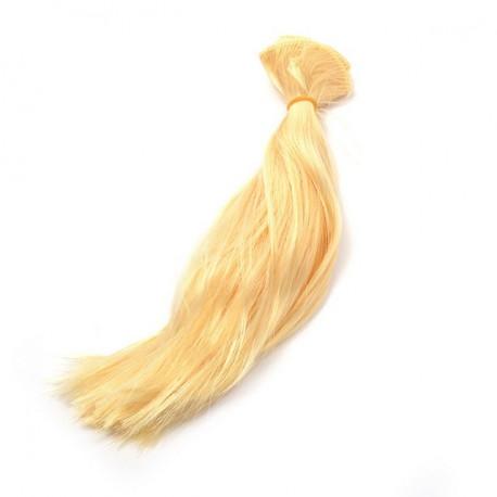 """Блондин, трессы прямые """"Элит"""" ширина 50см, длина 30см уп.2 шт"""
