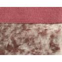 Пыльная роза, винтажный плюш М-4009 100%полиэстер 50х50(±1см)
