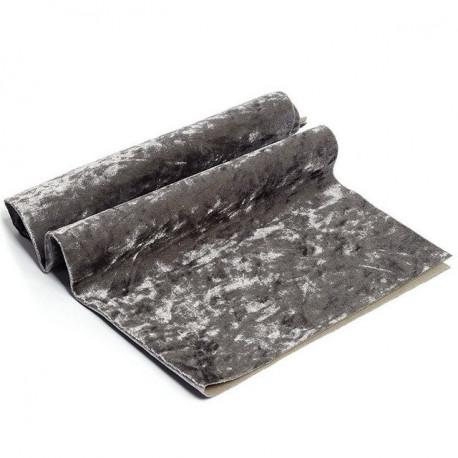 Серый, винтажный плюш М-4004(7) 100%полиэстер 50х50(±1см)