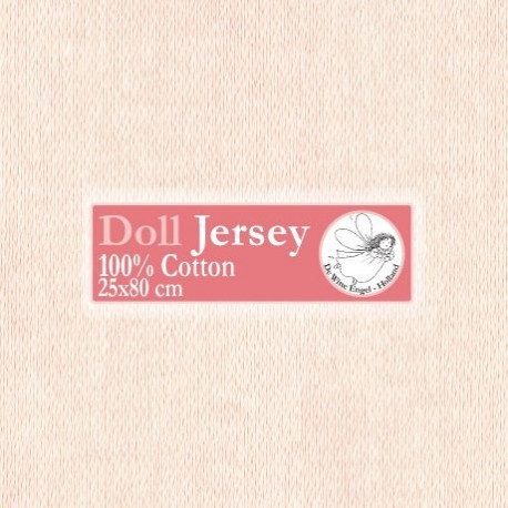Телесный. трикотаж для вальдорфских кукол DE WITTE ENGEL, ширина 80см чулок 25см, 100%хлопок T11503