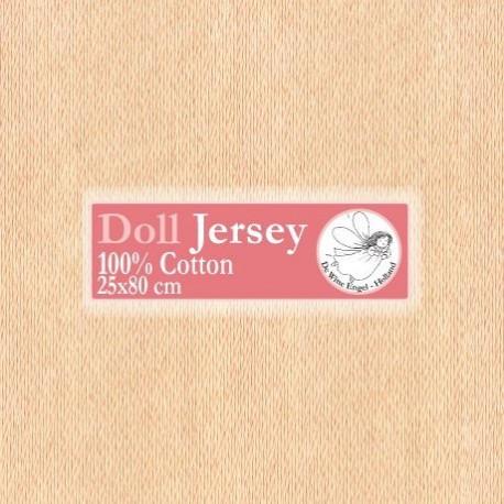 Бежевый. трикотаж для вальдорфских кукол DE WITTE ENGEL, ширина 80см чулок 25см, 100%хлопок T11403
