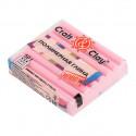 Нежно-Розовый, полимерная глина эффект матового стекла запекаемая 52гр Craft&Clay