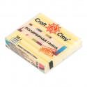 Лимонный Мармелад, полимерная глина эффект матового стекла запекаемая 52гр Craft&Clay