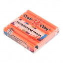 Морковный Кекс, полимерная глина эффект матового стекла запекаемая 52гр Craft&Clay