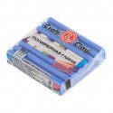 Джинсовый Синий, полимерная глина эффект матового стекла запекаемая 52гр Craft&Clay