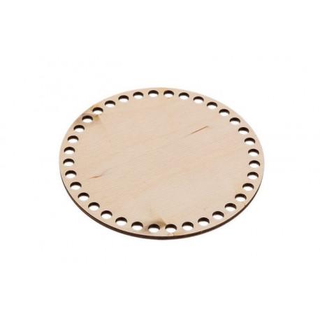 Круг, панно с перфорацией, заготовка для декорирования фанера 4см d15см Mr.Carving