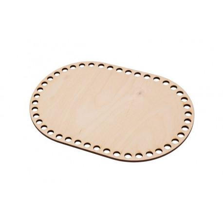 Прямоугольник скруглен панно с перфорацией, заготовка фанера 4мм 15х21см Mr.Carving