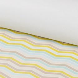 Волна (глянцевая), бумага упаковочная односторонняя плотность 90г/м2, 100х70см