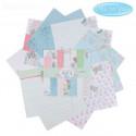 Маленькие радости Me to Yo, набор двусторонней бумаги для скрапа 30,5*30,5см 12листов 180г/м АртУзор