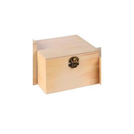 Шкатулка деревянная 14х12х9см АртУзор