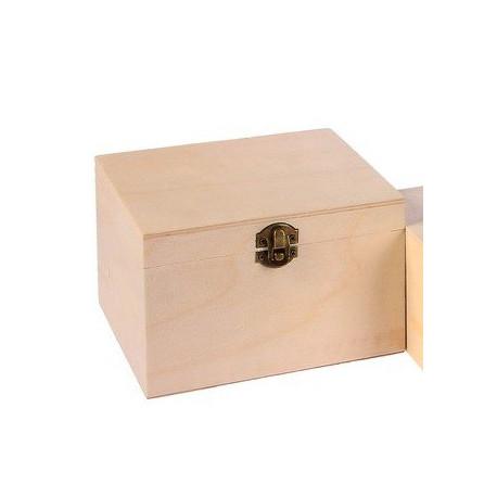 Шкатулка деревянная 17х15х11см АртУзор