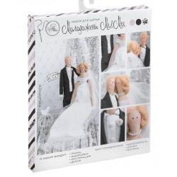 Молодожены Mr.&Mrs., набор для шитья кукол 40см АртУзор