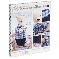 Медведь Эдвард, набор для шитья куклы 23см АртУзор