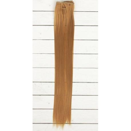 Св.каштан, прямые волосы для кукол 40см на трессе 50см цв.№27B SL