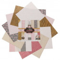 Звездное сияние, набор двусторонней бумаги для скрапбукинга 30,5*30,5см 12листов 180г/м АртУзор