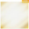 Мгновение, односторонняя бумага с фольгированием 30,5*30,5см 180г/м АртУзор