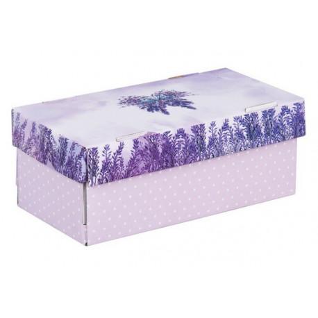 Счастье в каждом дне, коробка складная 25,5х12,5х10см гофрокартон АУ