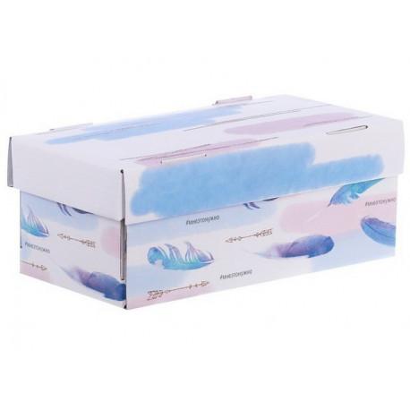 Мне это нужно, коробка складная 25,5х12,5х10см гофрокартон АртУзор