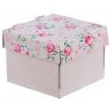 Нежность дня, коробка складная 15х15х12см гофрокартон АУ