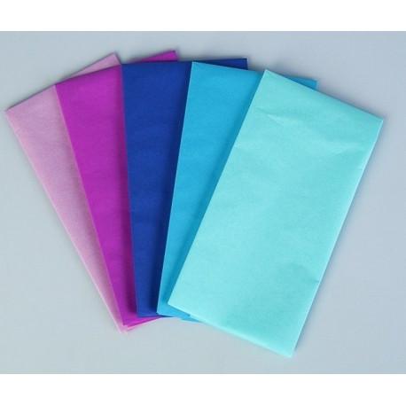 Аквамарин, набор бумаги тишью 5листов 50х70см Werola(SL)