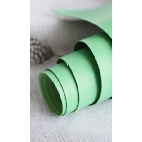 Травяной, переплетный кожзам для скрапбукинга 33х70(±1см) Италия