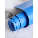 Санторини (ярко-синий), переплетный кожзам для скрапбукинга 33х70(±1см) Италия