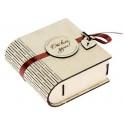 Шкатулка-книга деревянная От всей души 12х11х5см фанера 3мм АртУзор