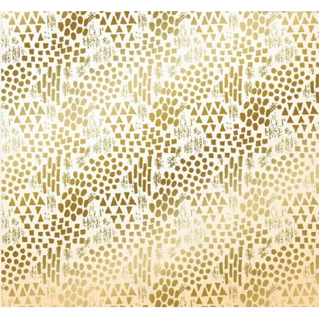Африка, односторонняя бумага с фольгированием 30,5*30,5см 180г/м АртУзор