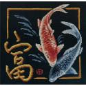 Богатство, набор для вышивания крестиком 21х22см 18цветов Panna