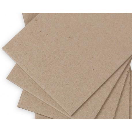 Переплетный картон 2мм 1250 г/м2  20х20см. Love2art