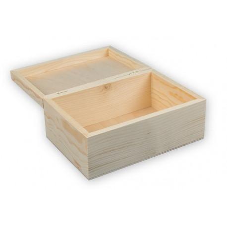 Шкатулка, заготовка для декорирования сосна 22x15x9см Mr.Carving