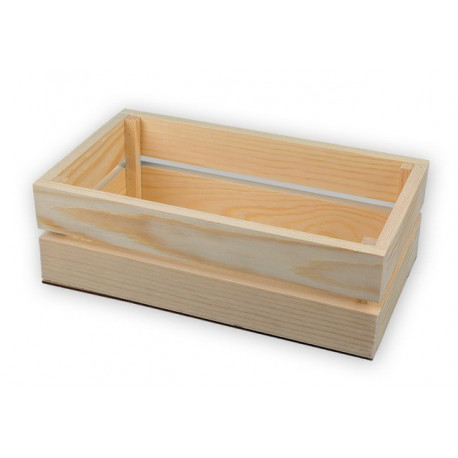 Ящик, заготовка для декорирования сосна 28x16x9см Mr.Carving