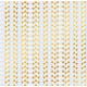 Геометрия, односторонняя бумага с фольгированием 30,5*30,5см 180г/м АртУзор