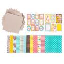 Счастливая семья, набор для создания фотоальбома 15,7х15,7х2,5см АртУзор