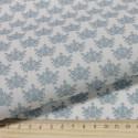 Гортензии №4 серо-голубые, ткань для пэчворка 48х50см 100%хлопок SL(AM)