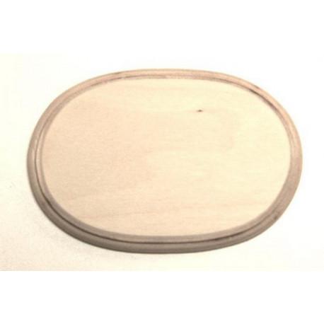 Накладка фигурная с фаской 2-03, заготовка для декорирования фанера 13,5х9см 8мм NZ